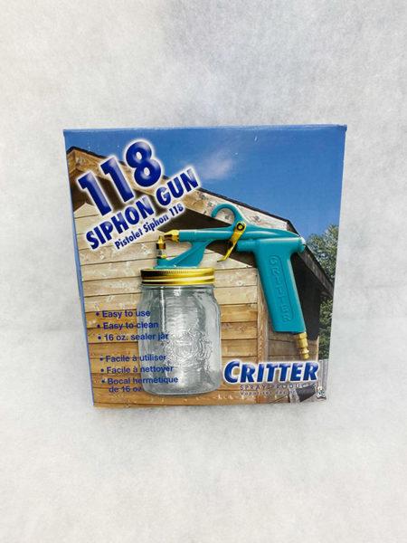 Glue gun for upholstery purposes