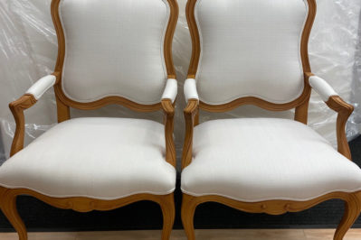 accent chair refinishing