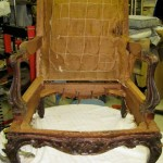 Antique Chair Restoration in progress