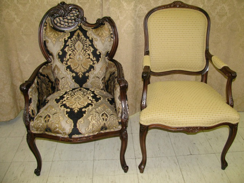 Antique chair restoration & Restoration of Chairs | Foamland and Tedu0027s Furniture Restoration ...