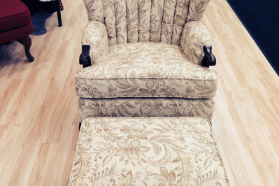 Chair re-upholstering