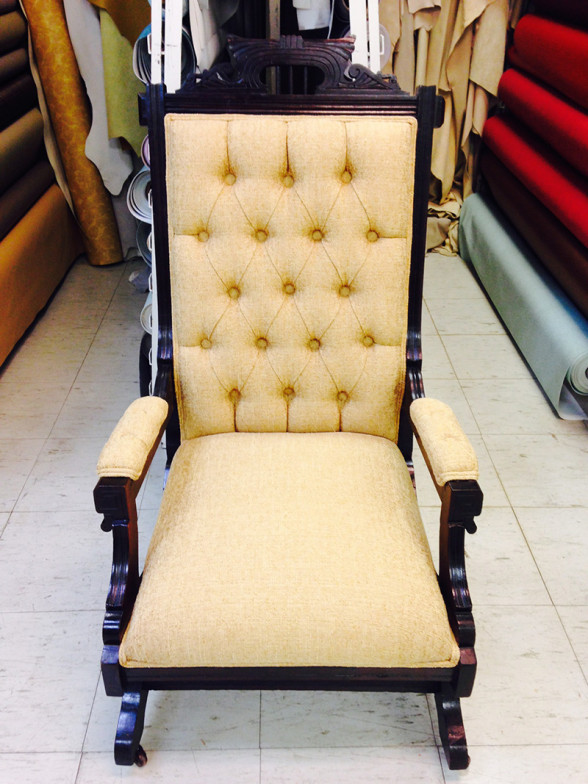 Chair re-upholstery and restoration