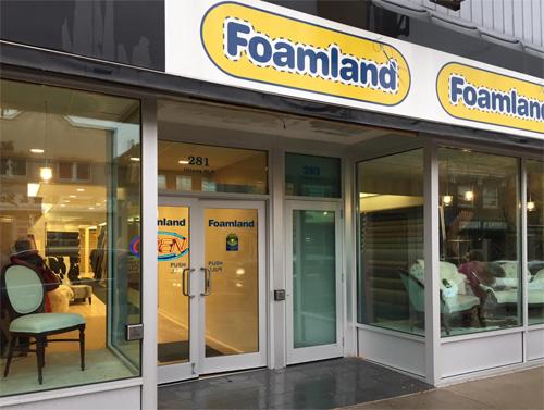 Foamland Store Ottawa Street Hamilton