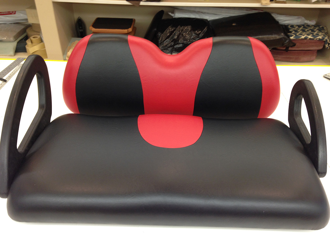 Golf Cart Seat Upholstery