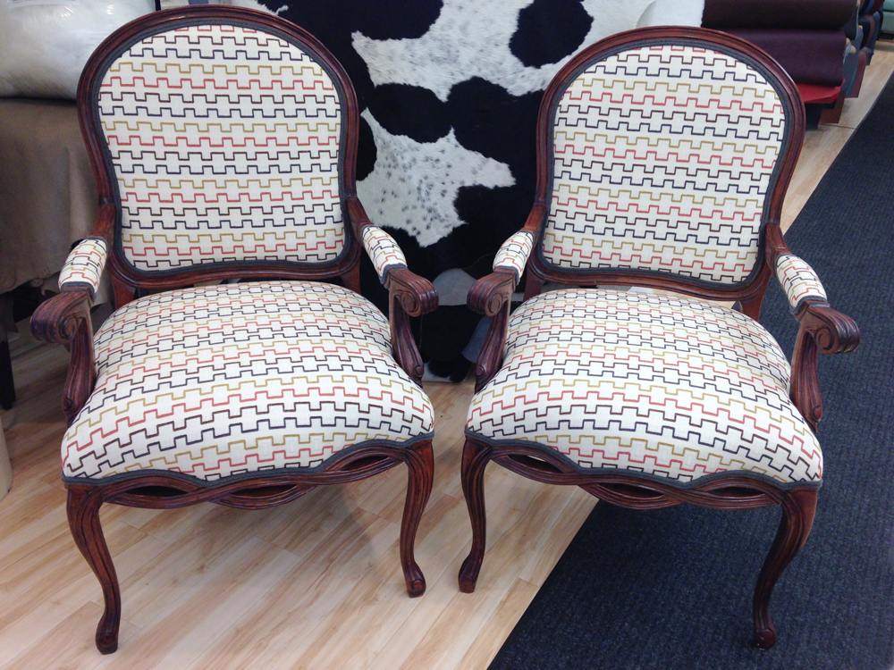 Reupholstered Armchairs Foamland And Ted S Furniture