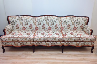 sofa reupholstery - after