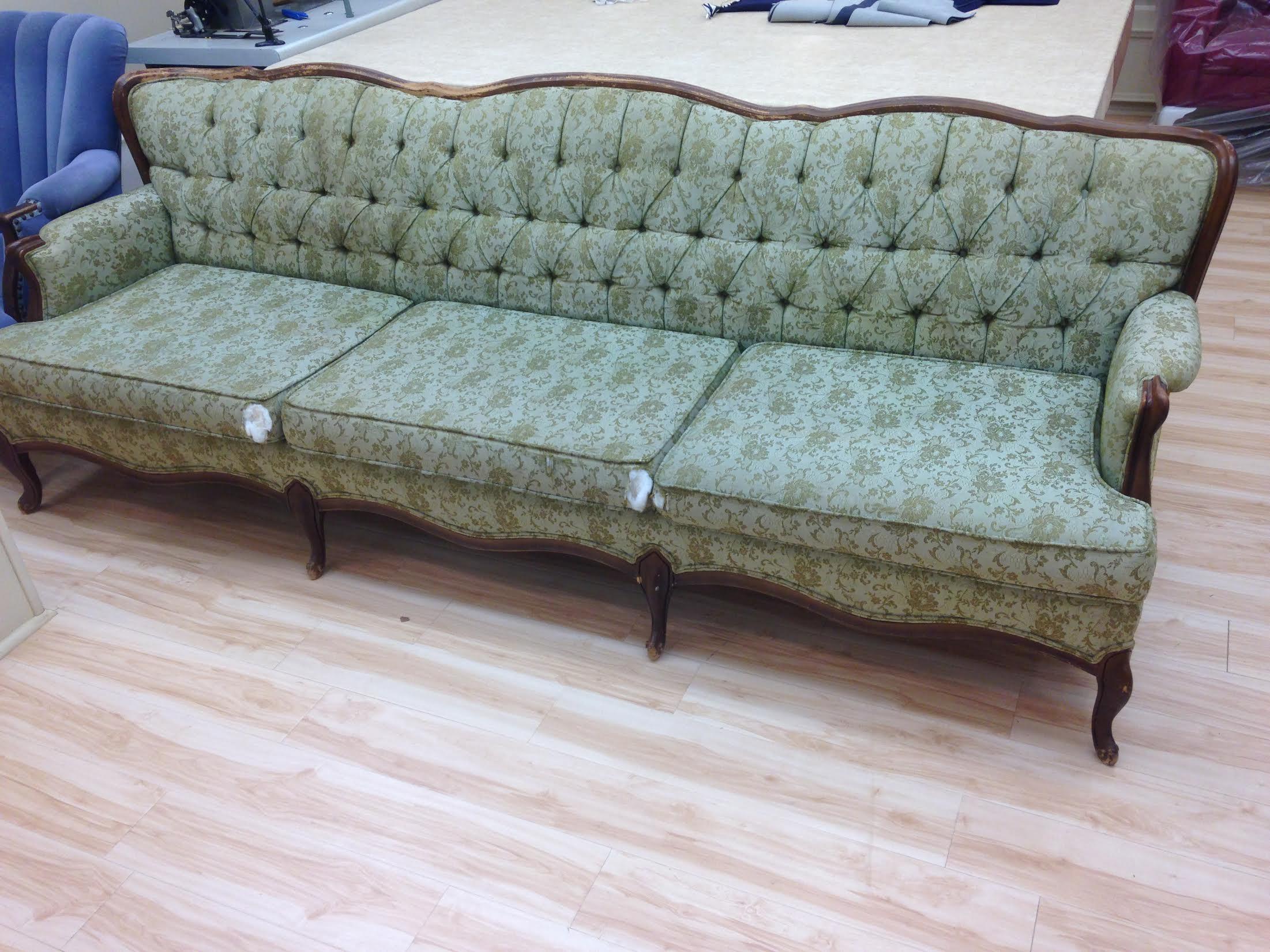 Sofa upholstery repair leather sofa upholstery repair for Furniture repair seattle