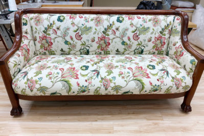 floral pattern sofa upholstery