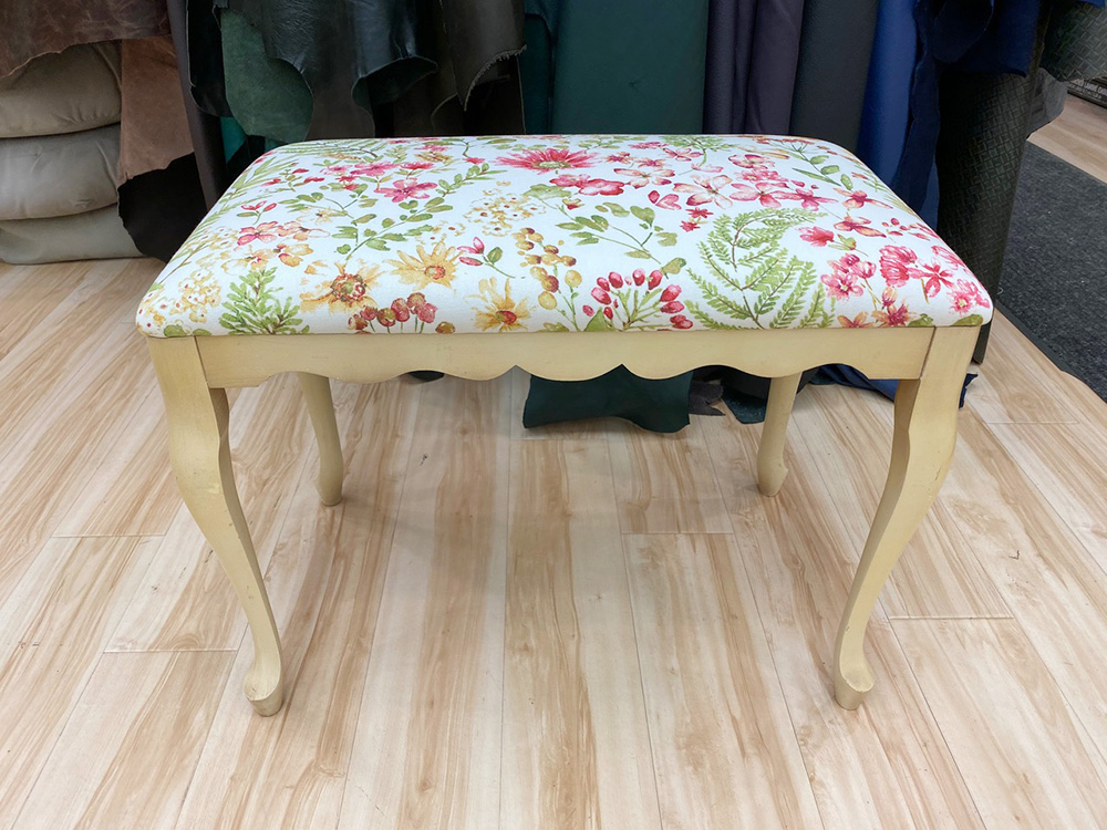 upholstery - floral pattern